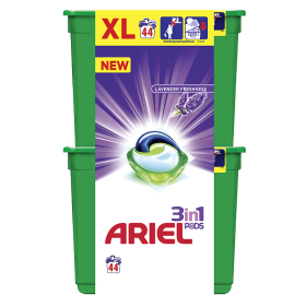 Ariel gelové kapsle 44 dávek, vybrané druhy Kaufland