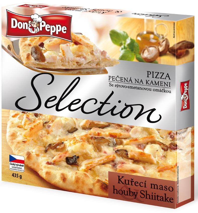 Don Peppe Pizza Selection, vybrané druhy
