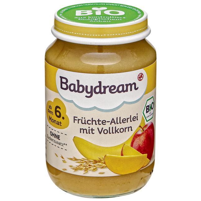 Babydream ovocné pyré 190 g, vybrané druhy ROSSMANN