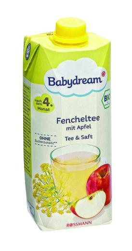 Babydream Bio ovocná šťáva 500 ml, vybrané druhy ROSSMANN