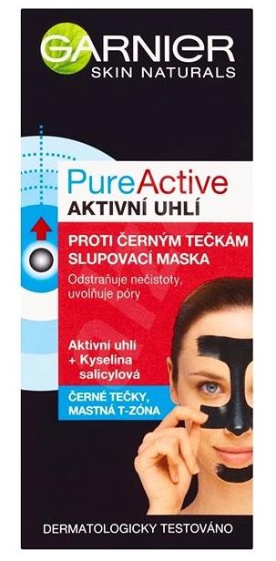 Garnier Pure Active slupovací maska proti černým tečkám 50 ml Teta drogerie