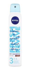 Nivea suchý šampon 200 ml, vybrané druhy Teta drogerie