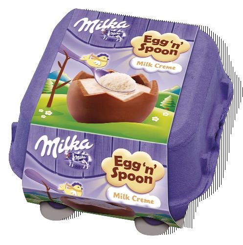 Milka Vajíčka plněná se lžičkou 128-136g