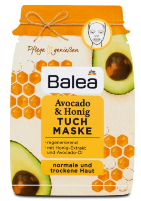Balea pleťová maska 1 ks dm drogerie markt