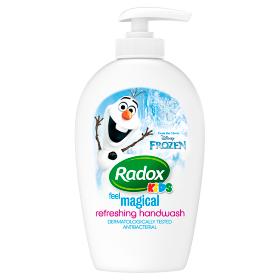 Radox Kids tekuté mýdlo 250ml Barvy a laky drogerie