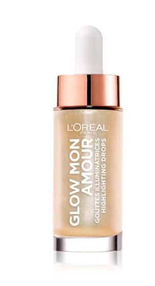 L'Oréal Paris Glow Mon Amour rozjasňovač Teta drogerie