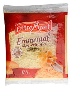 EntreMont Francouz. ementál strouhaný sýr