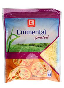 K-Classic Emmental strouhaný sýr