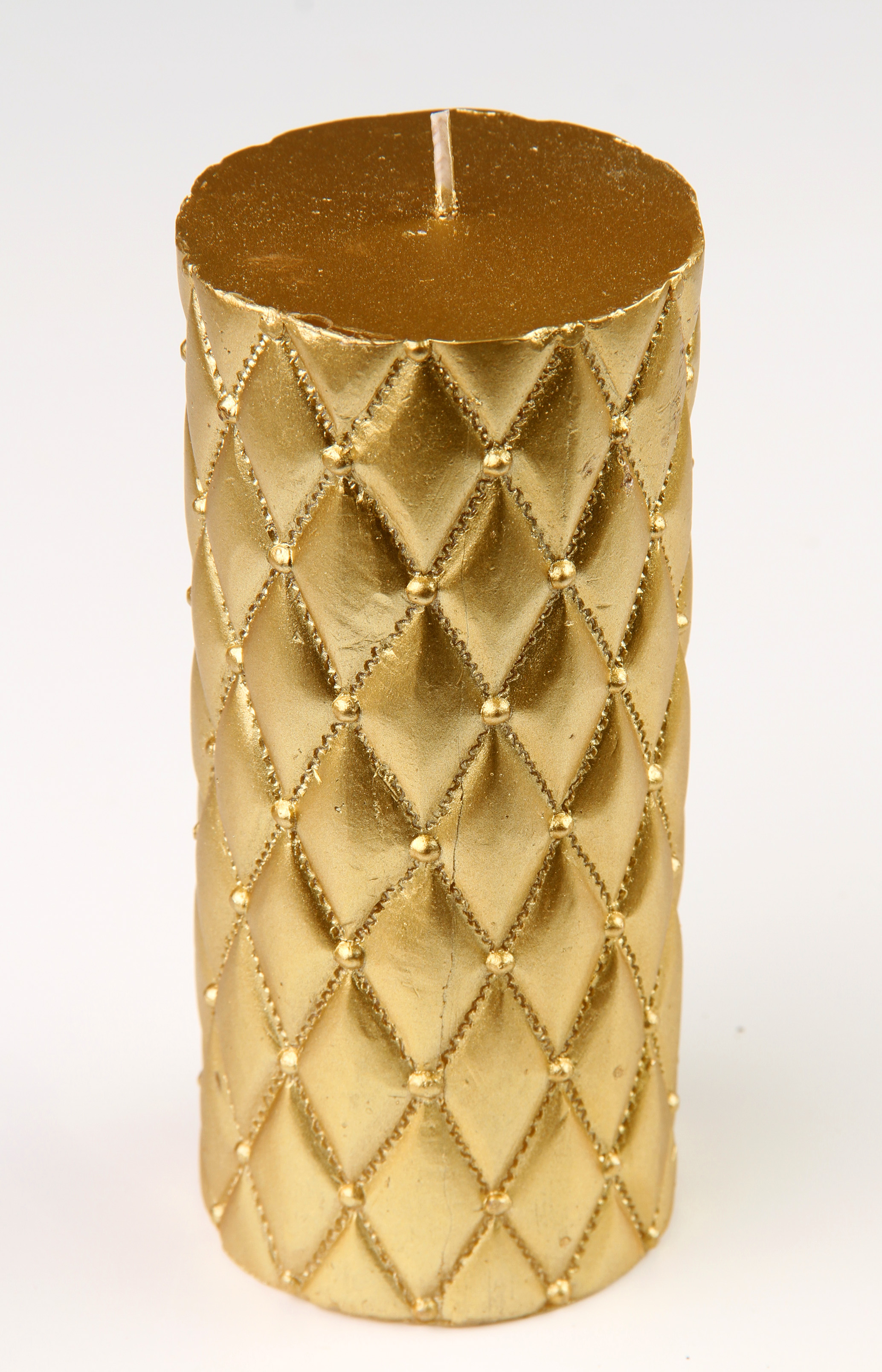 Dekorativní zlatá svíčka F & F Home