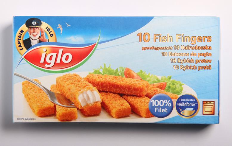 Iglo 10 Rybích prstů 100% filet