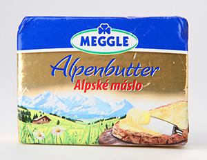 Meggle Alpské máslo
