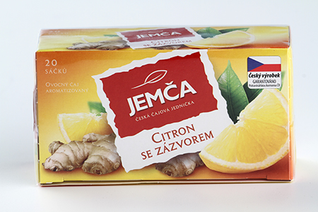 Jemča Citron se zázvorem