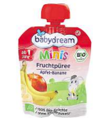 Babydream Minis ovocné pyré
