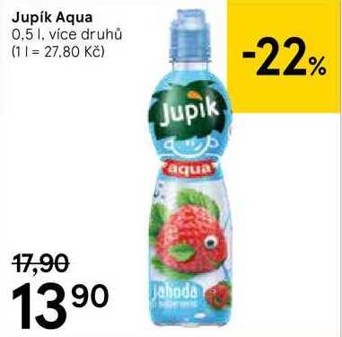Jupík Aqua, 0,5 l Tesco