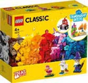 LEGO® Classic Průhledné kreativní kostky