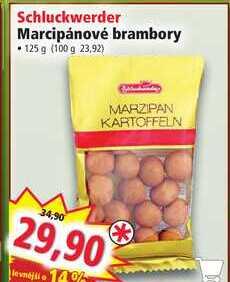 Schluckwerder Marcipánové brambory • 125 g