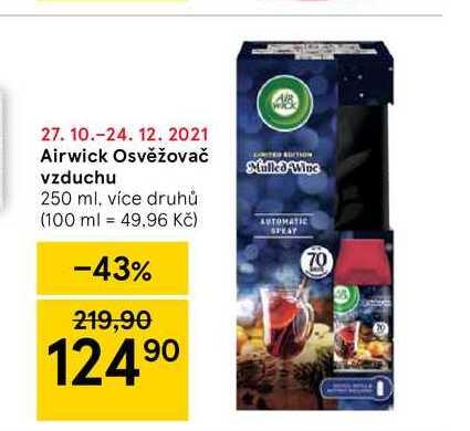 Airwick Osvěžovač vzduchu 250 ml